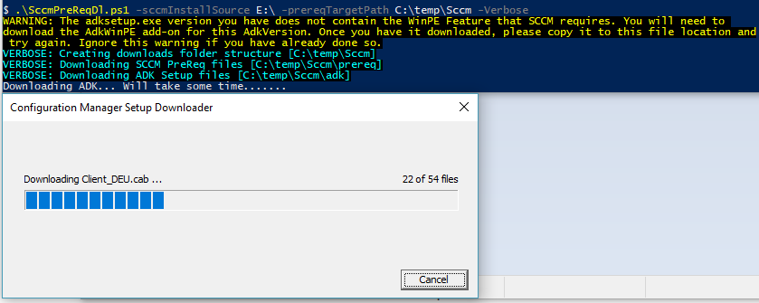 PowerShell - Sccm Install Example – CodeAndKeep Com – Code and keep